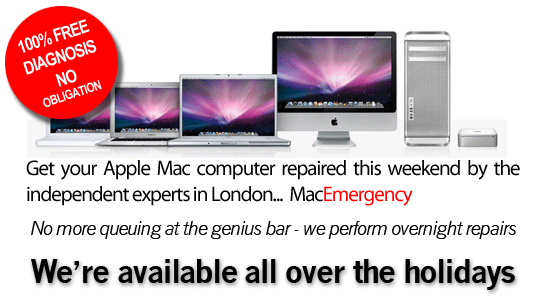 The Apple Mac Repair Experts in London