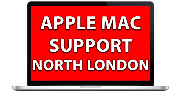 apple mac support north london